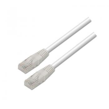 Cable de Red RJ45 UTP Aisens A133-0201 Cat.5e/ 10m/ Blanco - Imagen 1