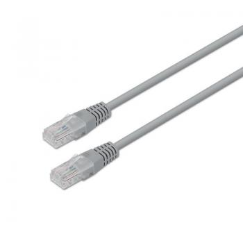 Cable de Red RJ45 UTP Aisens A135-0234 Cat.6/ 10m/ Gris - Imagen 1