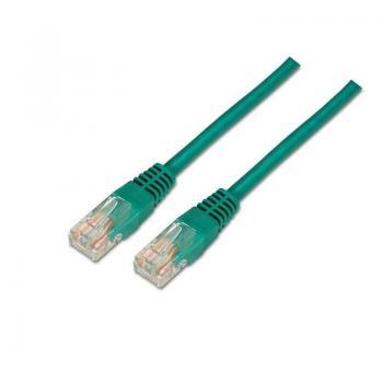 Cable de Red RJ45 UTP Aisens A135-0245/ Cat.6/ 50cm/ Verde - Imagen 1