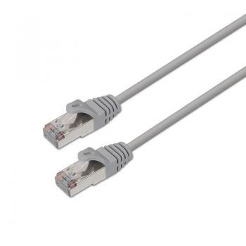 Cable de Red RJ45 FTP Aisens A136-0279 Cat.6/ 15m/ Gris - Imagen 1