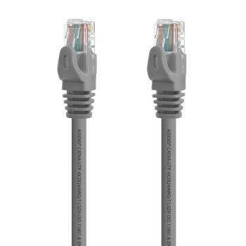 Cable de Red RJ45 UTP Aisens A145-0329 Cat.6A/ 5m/ Gris - Imagen 1