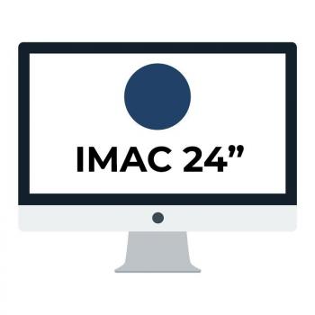 Apple iMac 24' Retina 4.5K/ Chip M1 CPU 8 Núcleos/ 8GB/ 256GB/ GPU 7 Núcleos / Azúl - Imagen 1