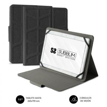 Funda Subblim Extreme Case para Tablet 9.6 a 11'/ Negra - Imagen 1