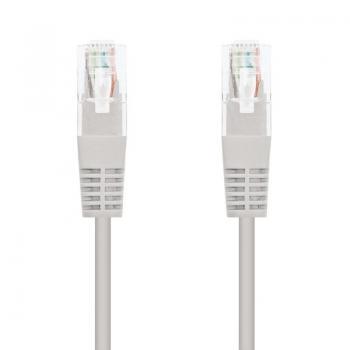 Cable de Red RJ45 UTP Nanocable 10.20.0105 Cat.5e/ 5m/ Gris - Imagen 1