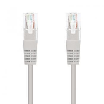 Cable de Red RJ45 UTP Nanocable 10.20.0107 Cat.5e/ 7m/ Gris - Imagen 1