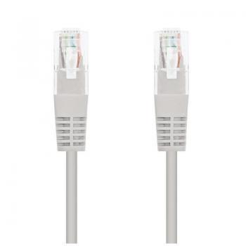 Cable de Red RJ45 UTP Nanocable 10.20.0130 Cat.5e/ 30m/ Gris - Imagen 1