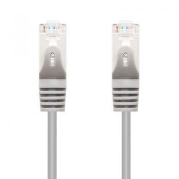 Cable de Red RJ45 SFTP Nanocable 10.20.0820 Cat.6A/ 10m/ Gris - Imagen 1