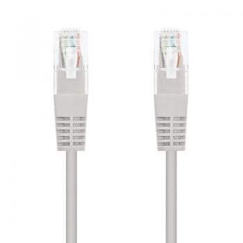 Cable de Red RJ45 UTP Nanocable 10.20.1310 Cat.6/ 10m/ Gris - Imagen 1