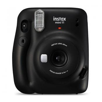 Cámara Digital Instantánea Fujifilm Instax Mini 11/ Tamaño Foto 62x46mm/ Gris Carbón - Imagen 1
