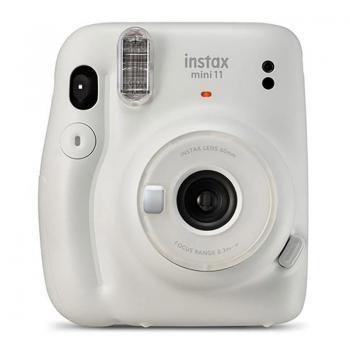 Cámara Digital Instantánea Fujifilm Instax 11/ Tamaño Foto 62x46mm/ Blanco Hielo - Imagen 1