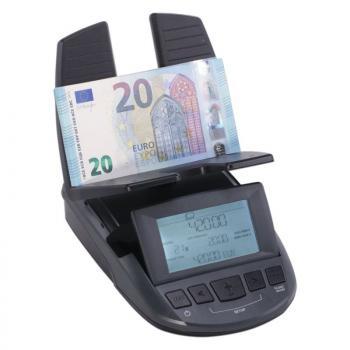BALANZA RATIO-TEC RS 2000 - CUENTA BILLETES/FAJOS DE BILLETES/MONEDAS Y ROLLOS DE MONEDAS - PARA EUROS/LIBRAS/CHF - PESAJE DINÁM