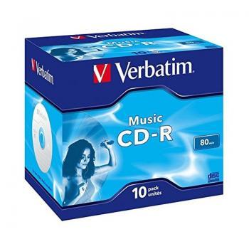 CD-R Verbatim Music 16X/ Caja-10uds - Imagen 1