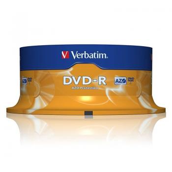 DVD-R Verbatim Advanced AZO 16X/ Tarrina-25uds - Imagen 1