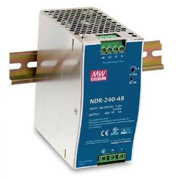 Fuente de Alimentación 240W 48VDC DIN Rail PSU D-Link DIS-N240-48/ 240W - Imagen 1