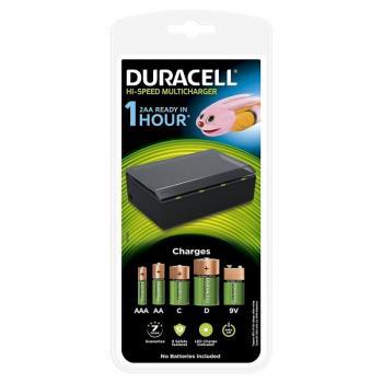 Cargador de Pilas Duracell CEF22-EU/ capacidad 4 pilas/ AA y AAA - Imagen 1