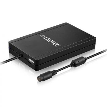 Cargador de Portátil Leotec Ultraslim/ 90W/ Automático/ 12 Conectores/ Voltaje 15-20V - Imagen 1
