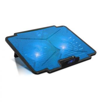 Soporte Refrigerante Spirit of Gamer Airblade 100 para Portátiles hasta 15.6'/ Iluminación LED - Imagen 1
