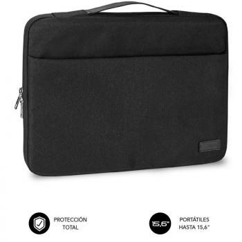 Maletín Subblim Elegant Laptop Sleeve para Portátiles hasta 15.6'/ Negro - Imagen 1
