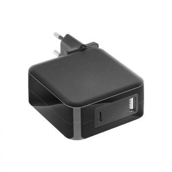 Cargador de Portátil Mars Gaming MNA2 Black/ 90W/ Automático/ 6 Conectores/ USB Tipo-C/ Voltaje 5-20V - Imagen 1