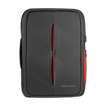 Mochila Mars Gaming MB2 para Portátil hasta 17'/ Puerto USB/ Antirrobo/ Impermeable - Imagen 1