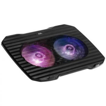 Soporte Refrigerante Mars Gaming MNBC0 para Portátiles hasta 15.6'/ Iluminación LED - Imagen 1