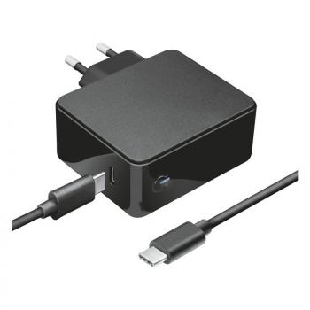 Cargador de Portátil Trust 23418 Para Apple/ 61W/ Automático/ USB Tipo-C/ Voltaje 5-20V - Imagen 1