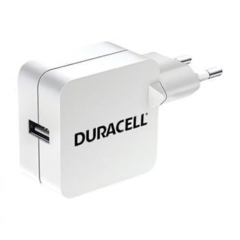 Cargador de Pared Duracell DRACUSB2W-EU/ 1xUSB/ 2.4A - Imagen 1