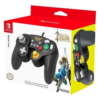 Gamepad con Cable Hori Battlepad Zelda para Nintendo Switch - Imagen 1