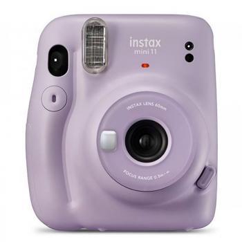Cámara Digital Instantánea Fujifilm Instax Mini 11/ Tamaño Foto 62 x 46mm/ Púrpura - Imagen 1