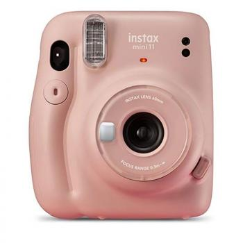 Cámara Digital Instantánea Fujifilm Instax Mini 11/ Tamaño Foto 62 x 46mm/ Rosa - Imagen 1