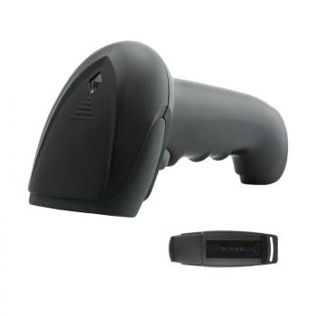 Lector de Código de Barras 1D Premier MS3-1D RF / USB Radiofrecuencia - Imagen 1