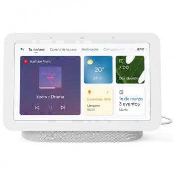 Altavoz Inteligente Google NEST HUB (2ª Generación) Tiza - Imagen 1
