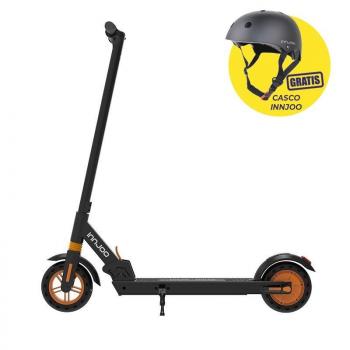 Patinete Eléctrico Innjoo Ryder XL Pro 2/ Motor 350W/ Ruedas 8'/ 25km/h/ hasta 120kg/ Naranja y Negro + Casco Regalo - Imagen 1