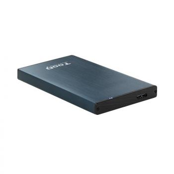 Caja Externa para Disco Duro de 2.5' TooQ TQE-2527PB/ USB 3.1 - Imagen 1