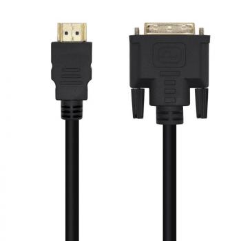 Cable HDMI Aisens A117-0451/ DVI Macho - HDMI Macho/ 3m/ Negro - Imagen 1