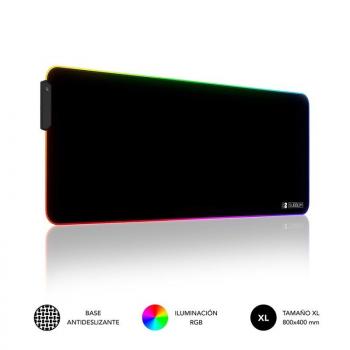 Alfombrilla Subblim MP-02RGB01 LED RGB XL/ 800 x 300 x 4 mm - Imagen 1