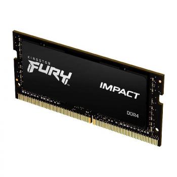 Memoria RAM Kingston FURY Impact 8GB/ DDR4/ 2666MHz/ 1.2V/ CL15/ SODIMM - Imagen 1