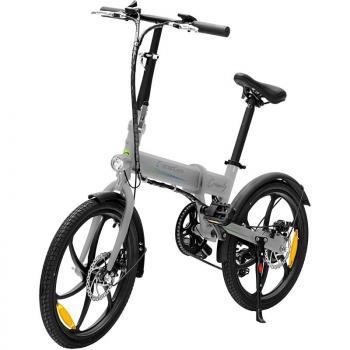Bicicleta Eléctrica SmartGyro Ebike Crosscity/ Motor 250W/ Ruedas 20'/ Plata - Imagen 1