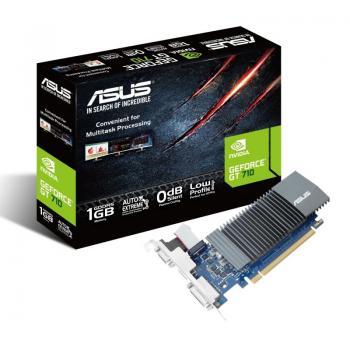 Tarjeta Gráfica Asus GeForce GT 710/ 1GB GDDR5/ Perfil Bajo - Imagen 1