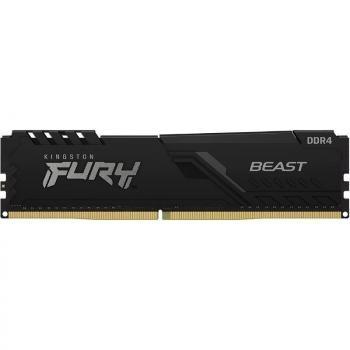 Memoria RAM Kingston FURY Beast 8GB/ DDR4/ 2666MHz/ 1.2V/ CL16/ DIMM - Imagen 1