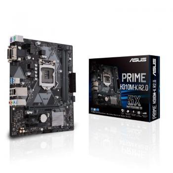 Placa Base Asus Prime H310M-K R2.0 Socket 1151/ Micro ATX - Imagen 1