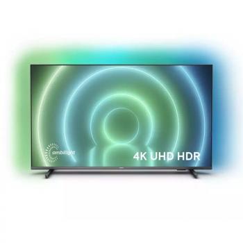 Televisor Philips 43PUS7906 43'/ Ultra HD 4K/ Ambilight/ Smart TV/ WiFi/ Gris - Imagen 1