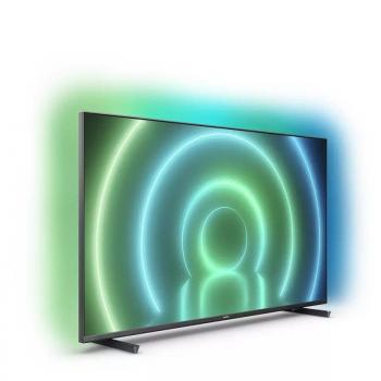 Televisor Philips 50PUS7906 50'/ Ultra HD 4K/ Ambilight/ Smart TV/ WiFi/ Gris - Imagen 2