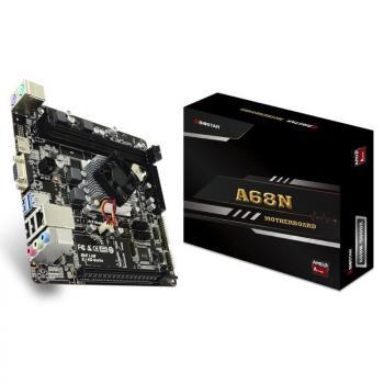 PLACA BASE BIOSTAR A68N-5600E - PROCESADOR INTEGRADO AMD PRO A4-3350B 2GHZ - CHIPSET CARRIZO-L - 2*DIMM DDR3 - VGA - HDMI - MINI