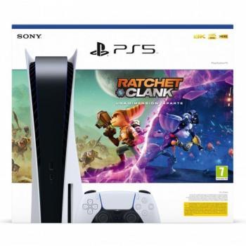 Consola Sony Playstation 5 - PS5 Edición Estándar/ Incluye Juego Ratchet & Clank: Una Dimensión Aparte - Imagen 1