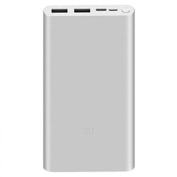Powerbank 10000mAh Xiaomi Mi Powerbank 3/ Plata - Imagen 1