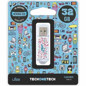 Pendrive 32GB Tech One Tech Music Dream USB 2.0 - Imagen 1