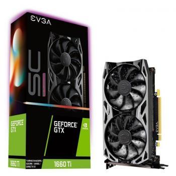 Tarjeta Gráfica EVGA GeForce GTX 1660 Ti SC ULTRA GAMING/ 6GB GDDR6 - Imagen 1